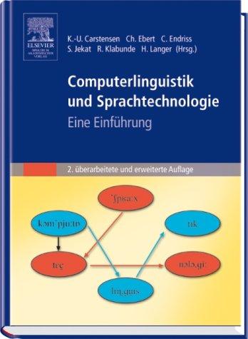 Titelbild Einfuehrung Computerlinguistik und Sprachtechnologie, 2. Auflage